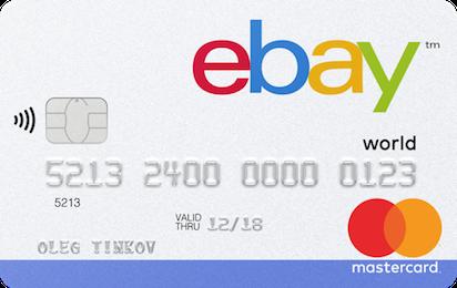 Кредитная карта Тинькофф eBay
