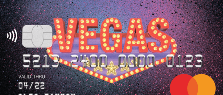 Кредитная карта Тинькофф VegasCard
